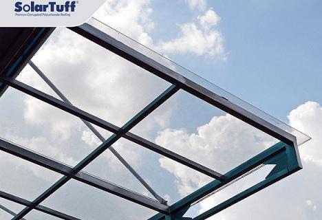 atap solartuff transparan