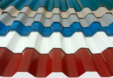 atap spandek warna