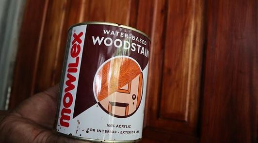 cat mowilex kayu