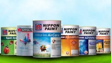 cat nippon paint kayu dan besi