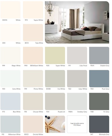 katalog warna vinilex