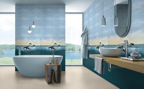 keramik kamar mandi 3D