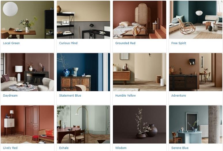 warna cat jotun interior