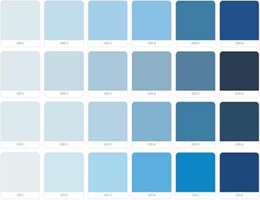 warna cat propan biru