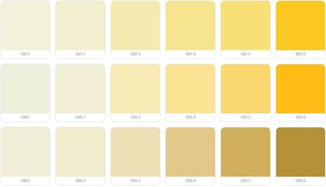 warna cat propan kuning