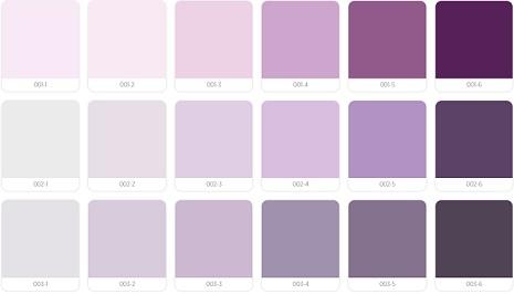 warna cat propan ungu