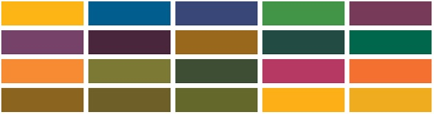 warna cerah