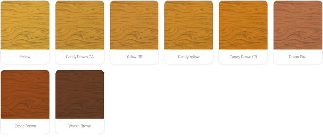 warna kayu natural