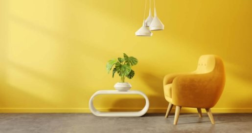 warna kuning lemon