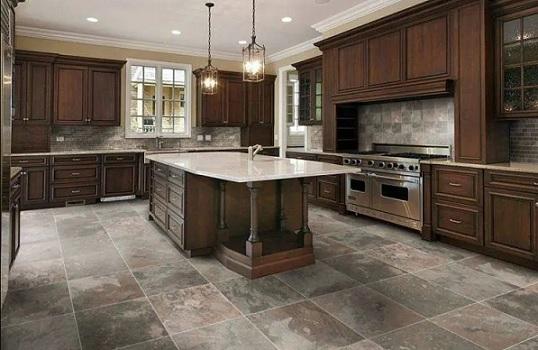 keramik dapur motif batu alam