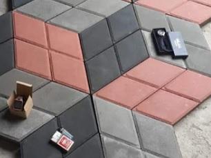 paving texture 3D