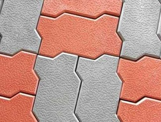 paving texture zigzag