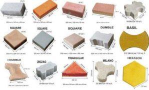 ukuran paving block