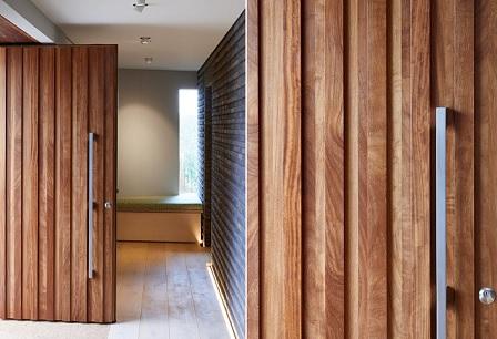 daun pintu kayu minimalis