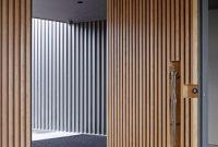 model daun pintu kayu modern