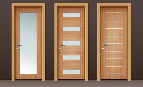 model daun pintu kayu Akasia