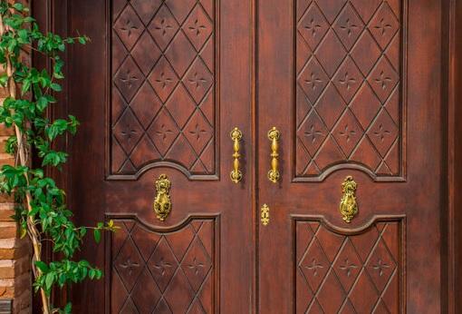 model daun pintu kayu vintage